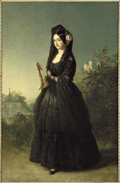 Retrato de la Infanta Luisa Fernanda, ca. 1847.