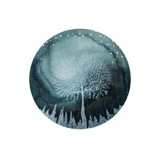 Hey, I found this really awesome Etsy listing at https://www.etsy.com/listing/97900805/fine-art-print-indigo-ice-forest