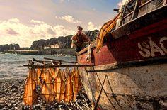 "Photo by John Lines, ""Fisherman"", Madiera, Portugal"