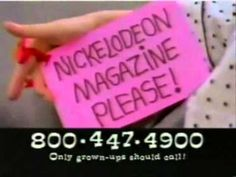 Nickelodeon Magazine PLEASE.I almost forgot there was a commercial for Nickelodeon Magazine! 90s Childhood, My Childhood Memories, Fail Blog, Love The 90s, Light Up Sneakers, Back In My Day, Verbatim, 90s Nostalgia, Ol Days
