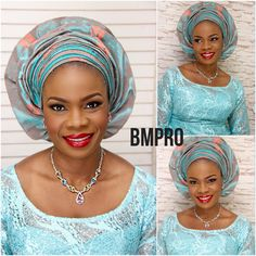 So many #beautiful pictures of #JumokeG. #OhMy!!! #photography and #makeupbyDemi #glossylips #bmpromakeup #gele #weddingguest @foradorafabrics