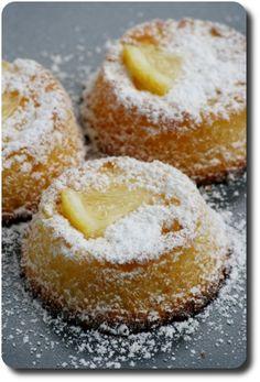Delizia (délice) de citron (petits gâteaux moelleux pour l'heure du thé)