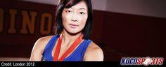 Canadian, Carol Huynh, captures bronze medal in women's wrestling - http://kocosports.com/2012/08/08/wrestling/canadian-carol-huynh-captures-bronze-medal-in-womens-wrestling/