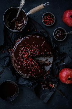 Comme Soie – Food & Styling Concepts // Food Photography // Food Styling // Food Blogger // Food Stylist // Food Phptogrspher // Chocolate Cake // Recipe