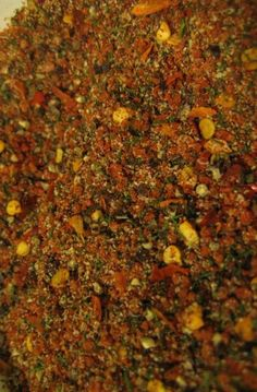 HOMEMADE MONTREAL STEAK SPICE aka CANADIAN STEAK SEASONING aka CANADIAN STEAK SPICE ~~~ the original recipe of this popular spice blend was based on the pickling dry-rub mix used in preparing montreal smoked meat and was first derived from pickling mixes used in e. europe and/or romanian-jewish cuisine. the primary ingredients include garlic, coriander, black pepper, cayenne pepper flakes, dill seed, and salt. [Canada, Montreal] [montreal steak seasoning copycat recipe] [foodista]