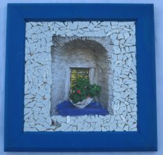 פסיפס חלון יווני