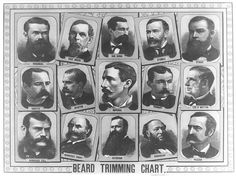 Poster on the wall of the barbers