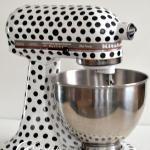 Kitchen Aid Mixer Makeover {A DIY}