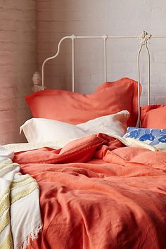 Anthropologie Soft-Washed Linen Duvet Found on my new favorite app Dote Shopping Home Bedroom, Modern Bedroom, Bedroom Decor, Bedroom Curtains, Bedroom Ideas, Master Bedroom, Dream Bedroom, Washed Linen Duvet Cover, Anthropologie Bedding