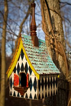 Regal roosts birdhouse! Love it!