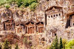 Lycian Rock Tombs, Dalyan.