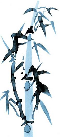sumi-e | Tchouki sumi-e: Japanese ink and wash painting art with oils and water ...