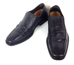 Cole Haan Shoes Mens 9.5 Black Leather Athletic Driving Loafers Nike Air