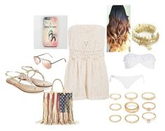 """Beach Outfit"" by roses-are-red1029 on Polyvore"