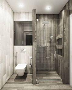tiny Bathroom Decor Shower Room Improvement Ideas: washroom remodel price, shower room suggestions for tiny bathrooms, little washroom style ideas. Bathroom Design Small, Bathroom Layout, Small Space Bathroom, Bath Design, Small Bathroom Interior, Washroom Design, Narrow Bathroom, Toilet Design, Tiny Bathrooms