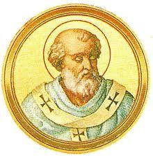 """84.- San Sergio I (Siria) (687-701)   Nació en Antioquía. Elegido el 15.XII.687, murió el 8.IX.701. Nombrado después de dos antipapas, intentó terminar con el cisma surgido en la misma Roma e hizo cesar el de Aquileia. Introdujo en la liturgia el canto del """"Agnus Dei""""."""