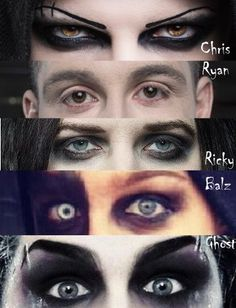 Motionless In White eyes -qtifddler