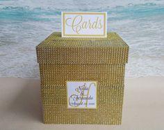 Image result for black & gold bling card boxes