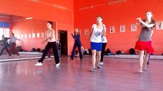"Ksenia Parkhatskaya ""Running Wild Swing"" Charleston Workshop"