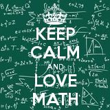 KEEP CALM AND LOVE MATH. Another original poster design created with the Keep Calm-o-matic. Buy this design or create your own original Keep Calm design now. Math Memes, Math Humor, Math Wallpaper, I Love Math, Math Poster, Fun Math Games, Keep Calm Quotes, Guided Math, Keep Calm And Love