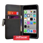 Jellibean Apple iPhone 5C PU Leather Wallet Case Cover  Screen Protector #February