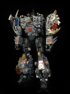 Frenzy.Rumble - Custom Transformer Combiner of Dinobots