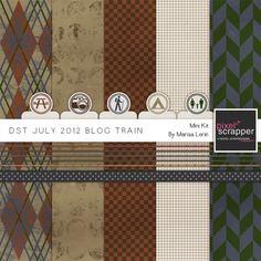 DST July 2012 Blog Train Kit*
