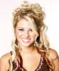 Prom Hairstyles For Long Hair   Half Up Long Curly Formal Hairstyle