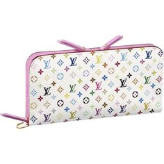 $152.44 Louis Vuitton Outlet Monogram Multicolore Insolite Wallet M93751 -- One of the best bags I've ever owned.