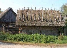 An old Ukrainian house in Polissia