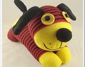 ..Handmade Sock Dog