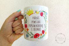 Motywujący kubek dla Pani na chandrę w lilladecor na DaWanda.com