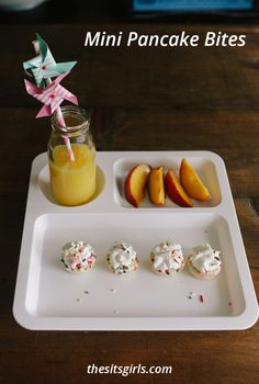 Don't worry about cooking in the morning! Make this mini pancakes ...