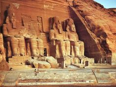 Abu Simbel ~ temple of Ramses II-