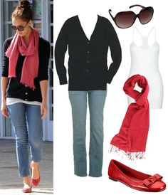 I would love a cute v-neck cardigan that I can wear as a top (buttoned up). Pref. 3/4 sleeve and thin.
