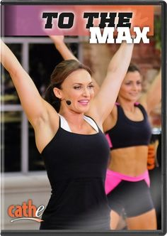 Cathe Friedrich's To The Max DVD, This multi-impact step workout never slows down! It starts off with a solid and intense step workout that gets your heart fired up to prepare you for the explosive step tabata drill. Lose 50 Pounds, Losing 10 Pounds, 20 Pounds, Losing Weight Tips, Reduce Weight, Lose Weight, Step Workout, Workout Dvds, Workout Plans