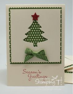 Stamping T! - Scentsational Christmas Tree Card