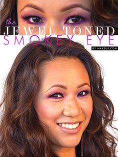 the jewel toned smokey eye // fun twist!