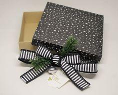 Weihnachtliche Geschenkbox www.stempeltasia.de