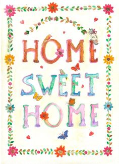 HOME+SWEET+HOME by+aliciasmagicland