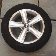 """Vw volkswagen golf #match mk 7 #alloy #wheel (dover ) tyre 16"""" ,  View more on the LINK: http://www.zeppy.io/product/gb/2/172192493295/"""