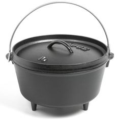 Lodge Deep Camp Dutch Oven - Cast Iron, 5 qt. in See Photo