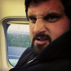 Andrew doesn't like waiting on the Philly Tarmac...