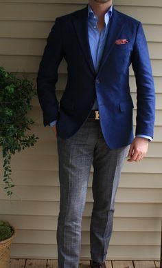 Sharp pants and sport coat combo