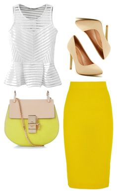"""""""Untitled #627"""" by adancetovic ❤ liked on Polyvore featuring Chloé, J.Crew and Top Guy"""