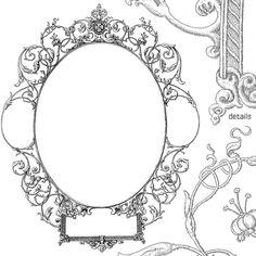 free decorative frames & borders for illustrator or photoshop
