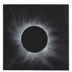 Image result for solar eclipse art kids