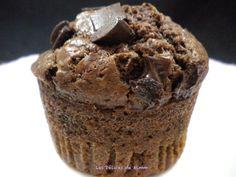 Aujourd'hui, je vous propose des gros muffins au chocolat comme aux U.S. super moelleux, aux grosses pépites de chocolat. Appréciés des...
