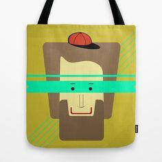 current superhero Tote Bag by AmDuf - $22.00