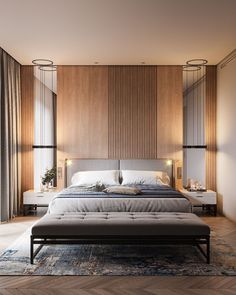 Modern Bedroom Ideas - Seeking the very best bedroom decor ideas? Use these stunning modern bedroom ideas as motivation for your own remarkable designing system . Bedroom Lamps, Home Decor Bedroom, Bedroom Wall, Bedroom Ideas, Wall Lamps, Lighting In Bedroom, Bed Room, Lux Bedroom, Bedroom Inspiration